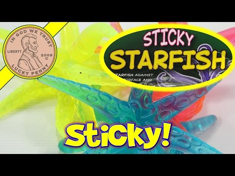 Sticky Starfish Tumblin Fun Novelty Kids Toy