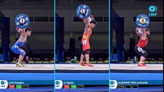 Snatch Lifts Comparison  - Pattaya - Men - 81 KG