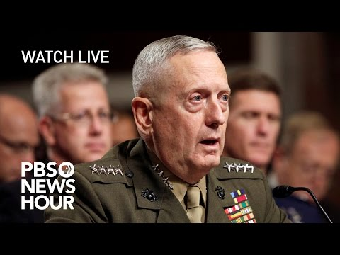 WATCH LIVE: James Mattis confirmation hearing