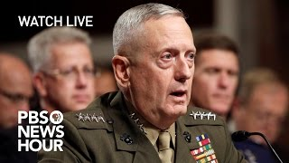 Repeat youtube video WATCH LIVE: James Mattis confirmation hearing