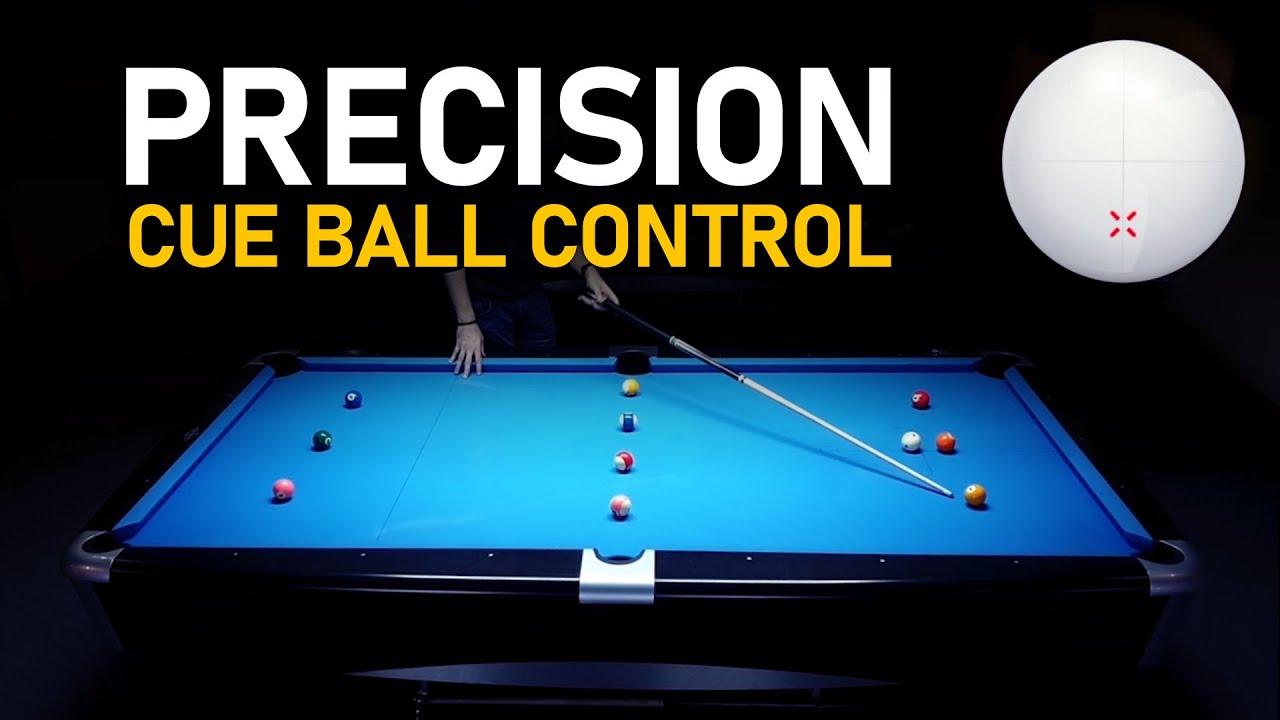 Pool Drill   Precision Cue Ball Control