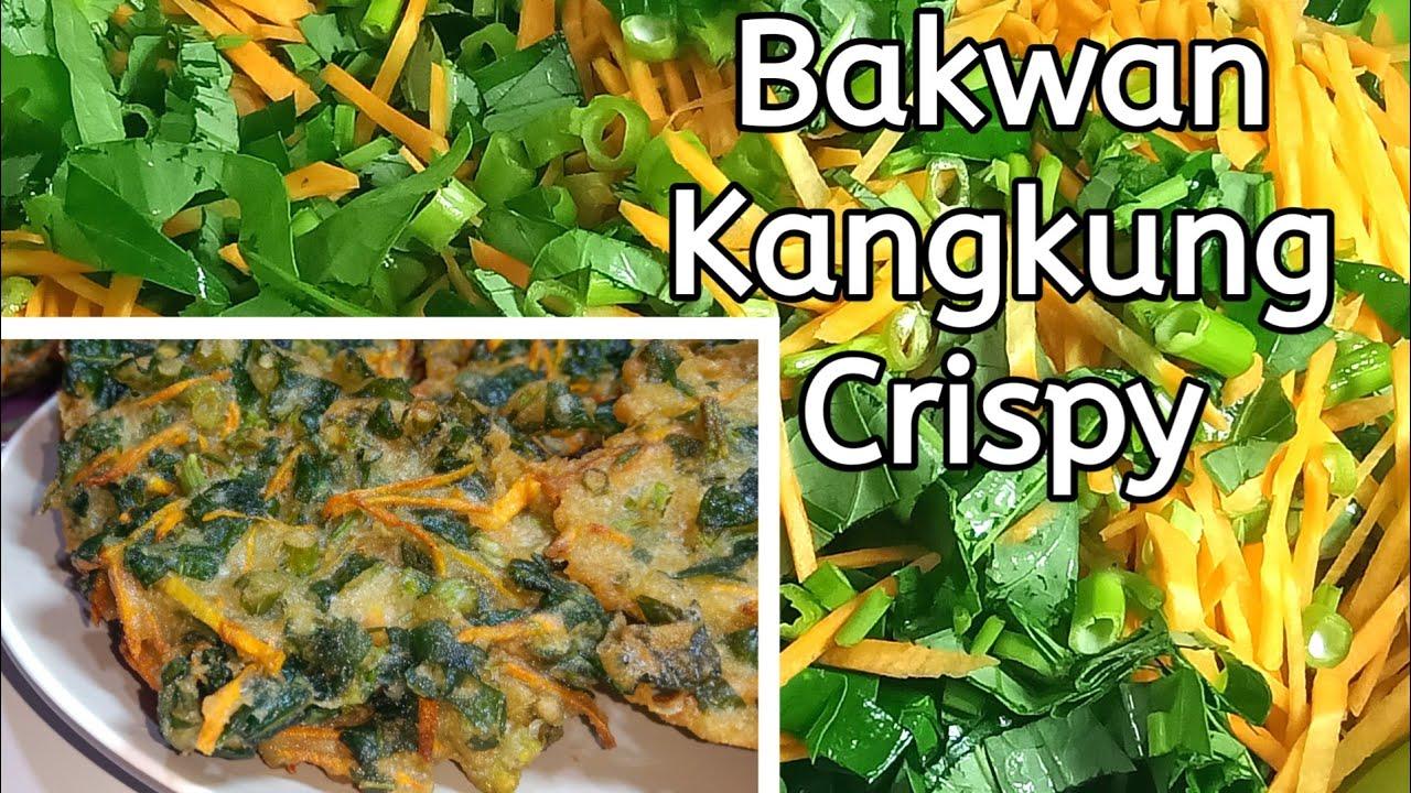 ide jualan//Resep bakwan Kangkung Crispy - YouTube