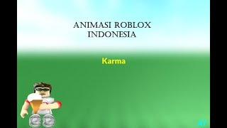 Karma-Animated Roblox Indonesia (Short)