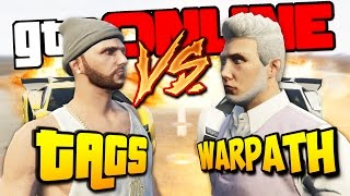 GTA 5 ONLINE ГОНОЧНАЯ ДУЭЛЬ - TAGS VS WARPATH! (КТО КРУЧЕ?)