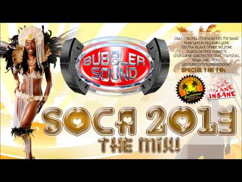 Soca 2013 Mix Bubbler Sound (with Tracklist and DLL) aka workout music!!