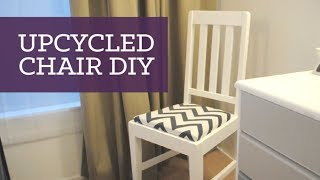 Upcycled Old Chair Diy | Charlimarietv