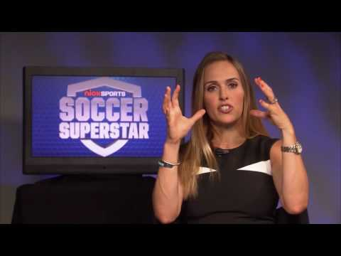 Heather Mitts Talks About Nick Sports Soccer Superstar Competition