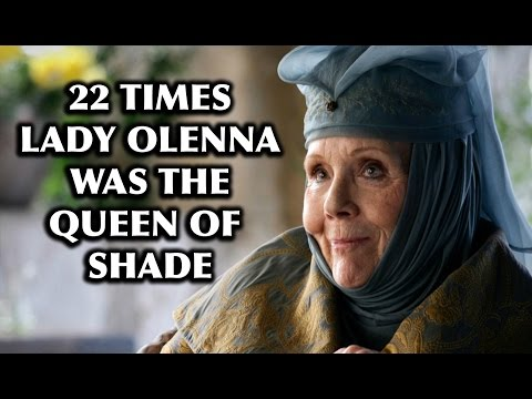 """22 Times Lady Olenna From """"Game Of Thrones"""" Was the Queen of Shade"""