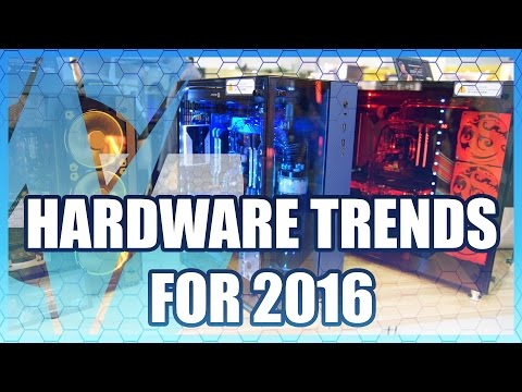 Computex 2016 Trends: RGB LEDs, Tempered Glass, VGAs