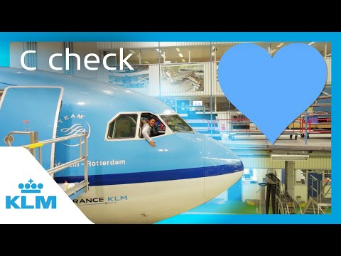 KLM Intern On A Mission - C check
