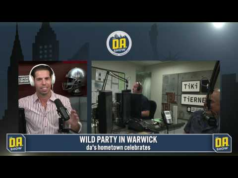 Mraz says D.A. should be part of his hometown's of Warwick, New York's 150th celebration