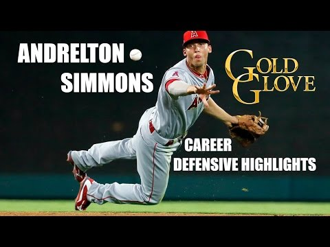 Andrelton Simmons   Career Defensive Highlights
