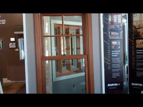 Marvin Ultimate Double Hung Product Demonstration