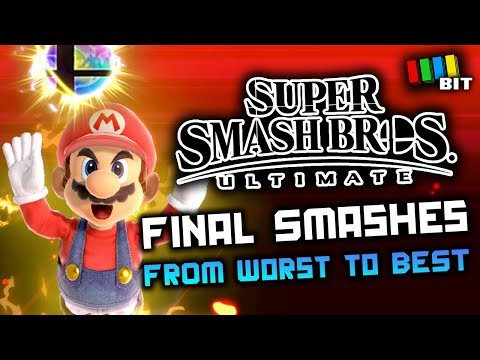 Ranking Every Final Smash from Super Smash Bros Ultimate [TetraBitGaming]