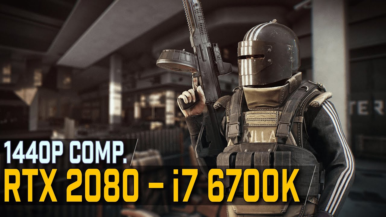 Escape from Tarkov | RTX 2080 & i7 6700K | 1440p Benchmark | Comp  Settings