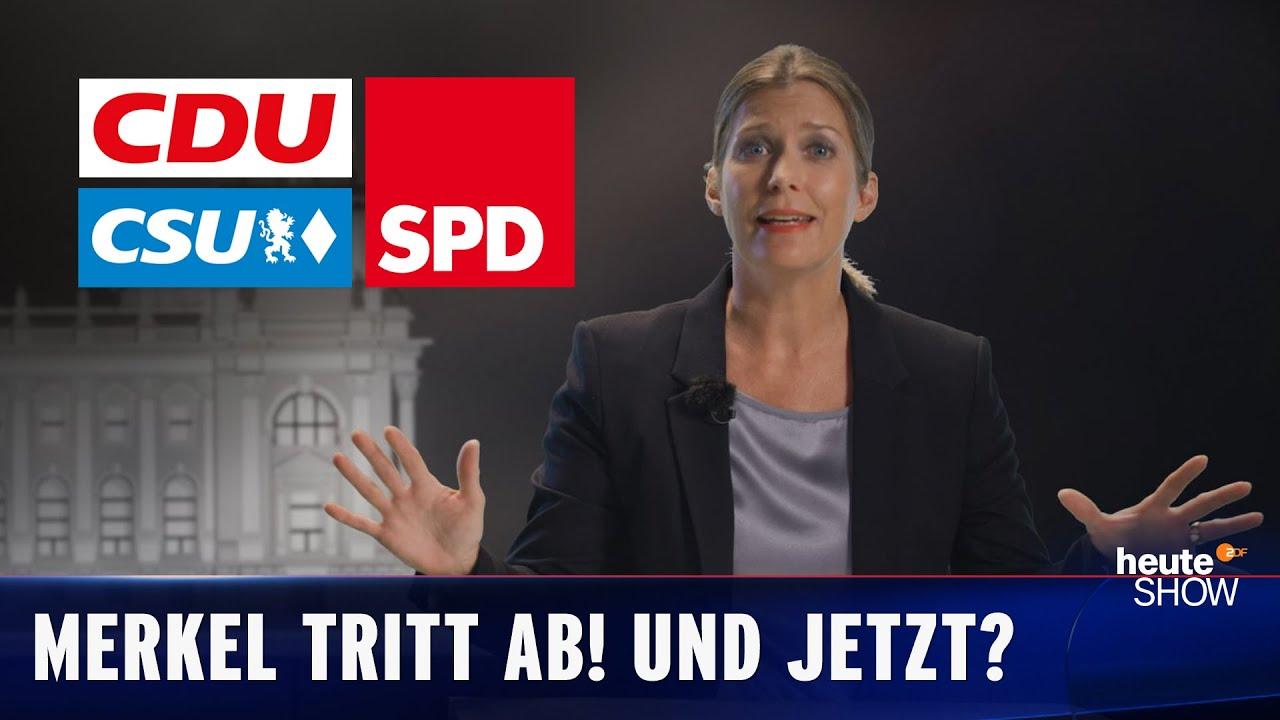 Wer wird Merkels Erbe? Die kleine Geschichte von SPD, CDU und CSU | heute-show