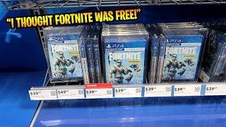 I paid $30 to play fortnite...