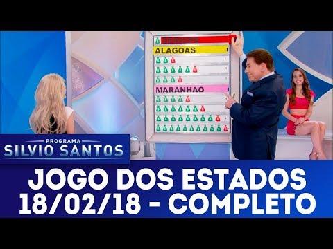 Jogo dos Estados - Completo | Programa Silvio Santos (18/02/18)