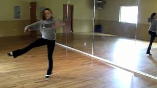 Morgan Mulholand - Competition Tap Routine ending