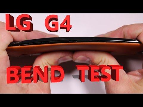 LG G4 Scratch Test, Burn Test, Bend Test, Durability video