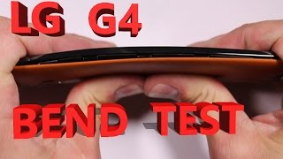 LG G4 - LG G4 Scratch Test, Burn Test, Bend Test, Durability video
