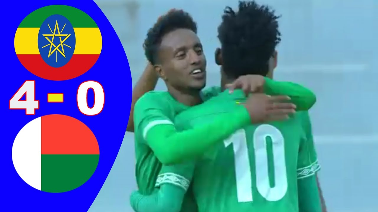 Ethiopia vs Madagascar 4 - 0 - All Goals & Highlights - African Cup of Nations Qualifiers 2021