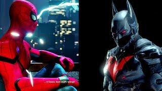 Epic Stealth Moments : Spider-Man Vs BATMAN Arkham Knight (Gameplay Montage)