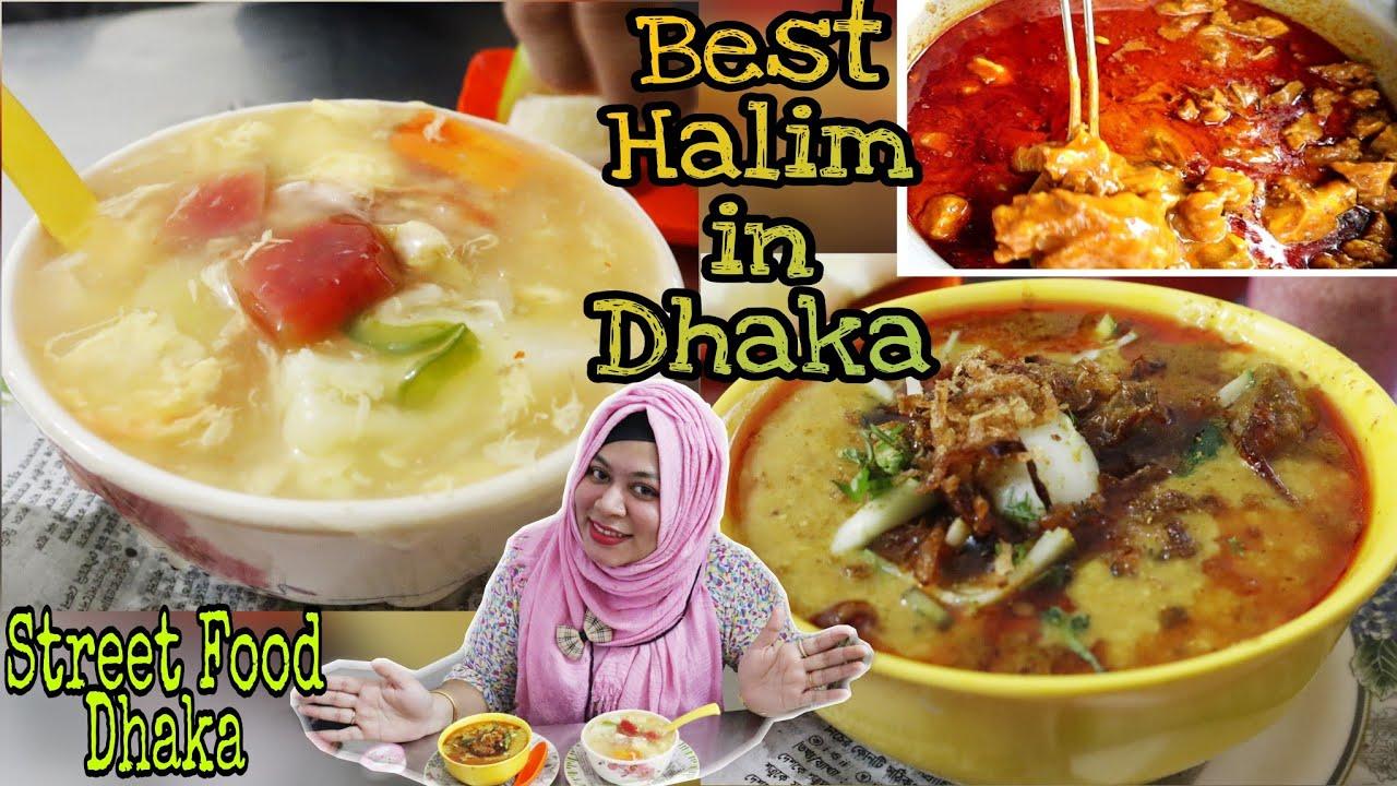 মনা মামার শাহী বিফ হালিম, স্যুপ ও অন্থন।হালিমের ভিতর কোয়েলের ডিম😮!Mohammadpur Street Food।Mona Halim