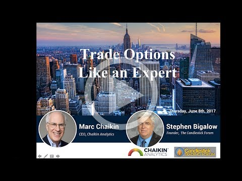 Trade Options Like an Expert presented by Marc Chaikin & Stephen Bigalow