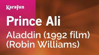 Karaoke Prince Ali - Aladdin *