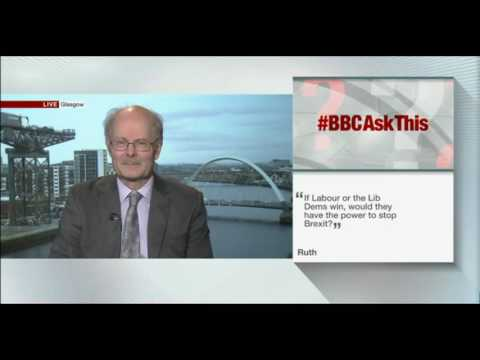 GE2017: John Curtice answers viewer questions
