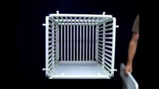 Indoor Dog Crate Assembly Video - By Rover Company