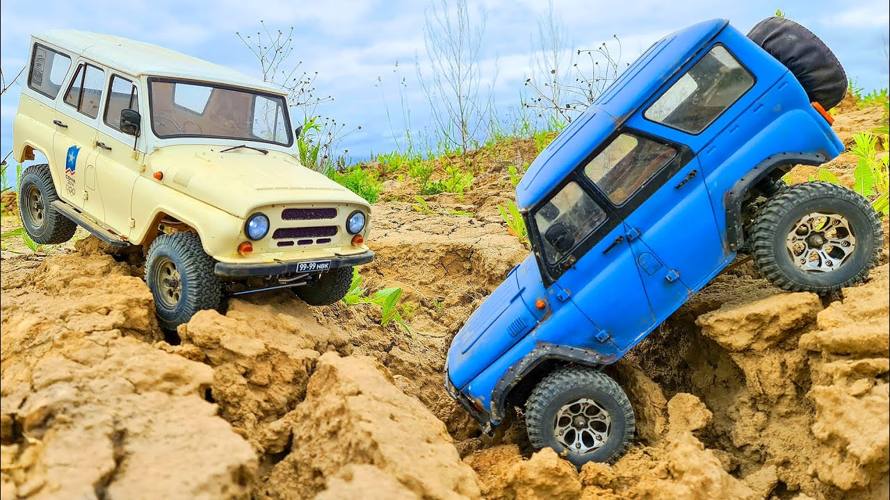 UAZ 469 and UAZ Hunter - Best Russian Cars Extreme OFF Road 4x4