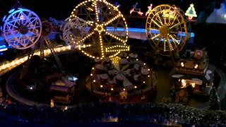 Magical Christmas Village Layout-closeup 2