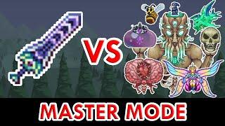 Terraria 1.4 - Zenith vs ALL Bosses (Master Mode)