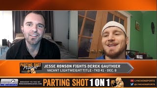 TKO 41's Jesse Ronson plans to push the pace and break Derek Gauthier