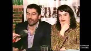 "Kenan imirzalioglu  with co-star  "" aci hayat """