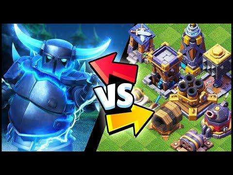 New SUPER PEKKA vs All Defenses   Clash Of Clans Update Comparison