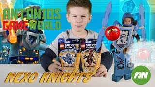 Nexo Knights Lego - Building Nexo Knights Clay  Kids Suit - Ultimate Clay and Ultimate Beast Master
