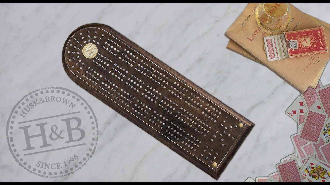High Quality Luxurious Cribbage Boards For Sale - Buy Your Original Crib  Board Online - Husk & Brown