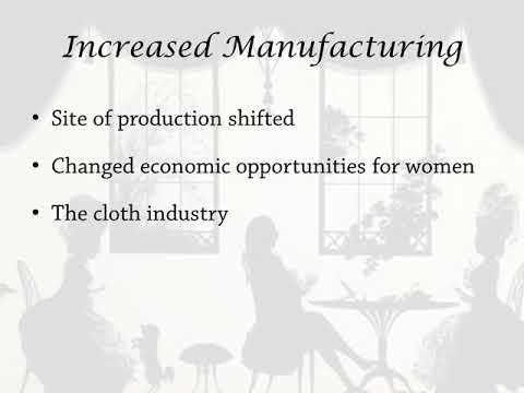 Women as Producers and Consumers- An Introduction