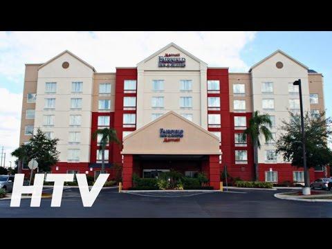 Hotel Fairfield Inn And Suites By Marriott Orlando Near Universal Orlando