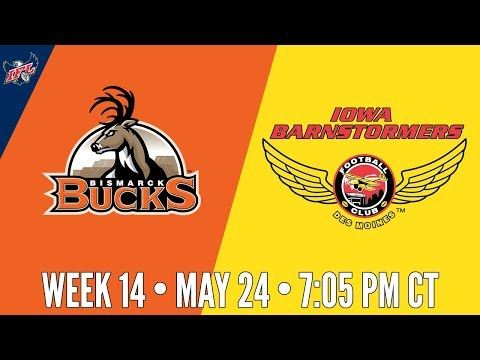 IFL Week 14 | Bismarck Bucks at Iowa Barnstormers