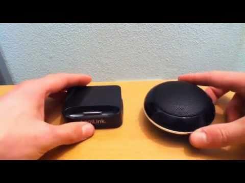 Mobile Speaker & Docking Station für iPhone & iPod Touch
