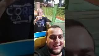 армян уговорил русского друга ..сесть на американские горки в первый раз в жизни за 25 лет....