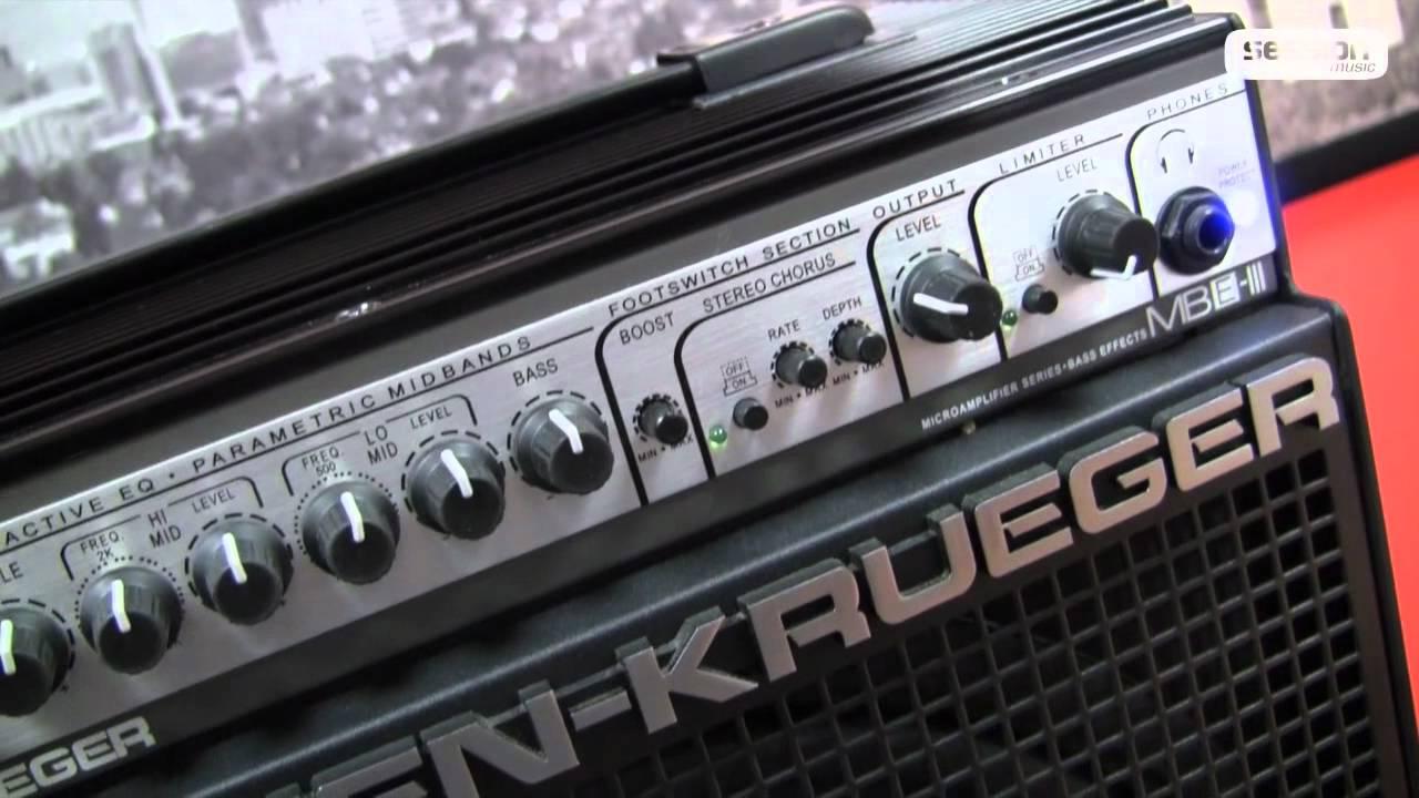 100 Amp Disconnect >> Gallien Krueger MB150E-112 III - YouTube