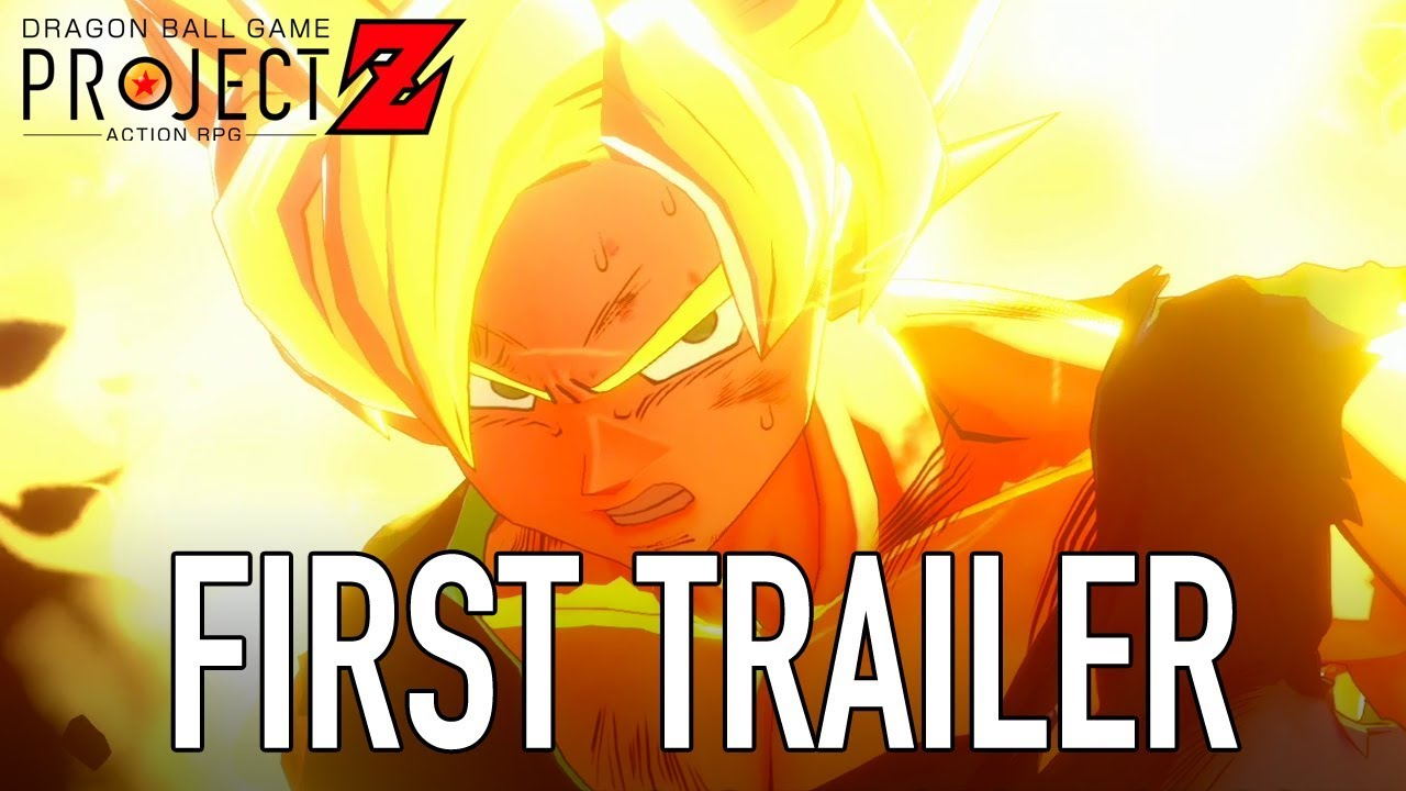 Dragon Ball Game Project Z - PS4/XB1/PC - First Trailer