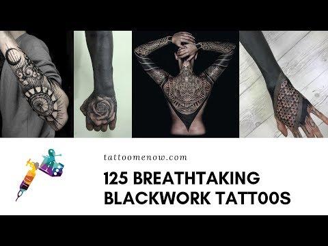 125 Breathtaking Blackwork