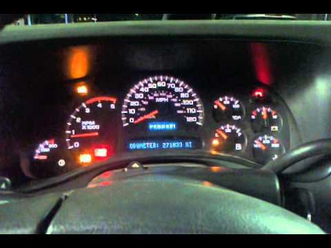 04 duramax security light and gauge shut off