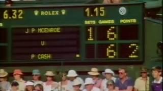 Wimbledon 1984 - John McEnroe vs Pat Cash